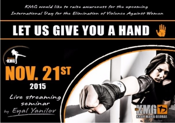 Krav Maga Midlands webinar to raise awareness of the International Day for the Elimination of Violence Against Women